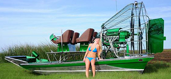 Diamondback Airboat