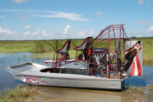 550HP Fuel-Injected Airboat